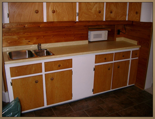 Custom Woodworking - Before Kitchen Cabinet Makeover