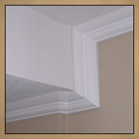 Replaced Crown Moulding After Image