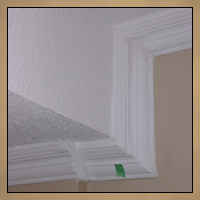 Botched Crown Moulding Before Image