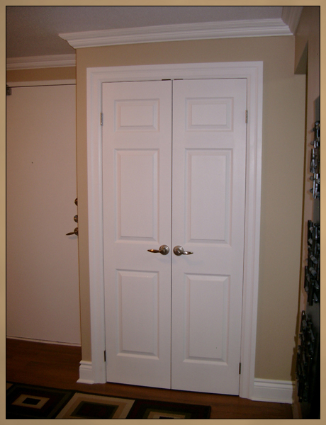 ... After Crown Moulding And New Closet Doors Photo