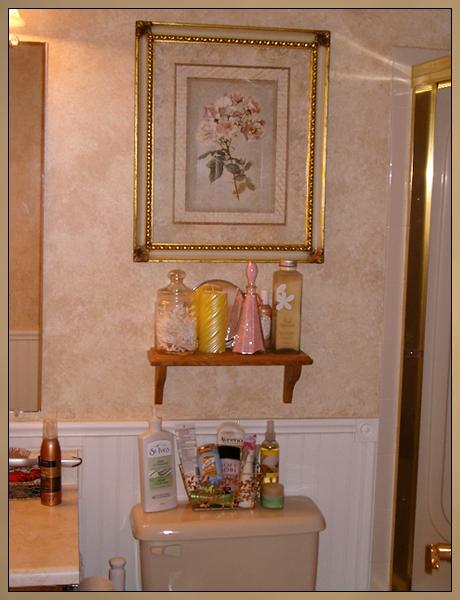 Ensuite Wainscoting, Painting and Faux Finish Painting Photo