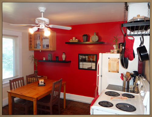 Home Interior Kitchen Painting Photo